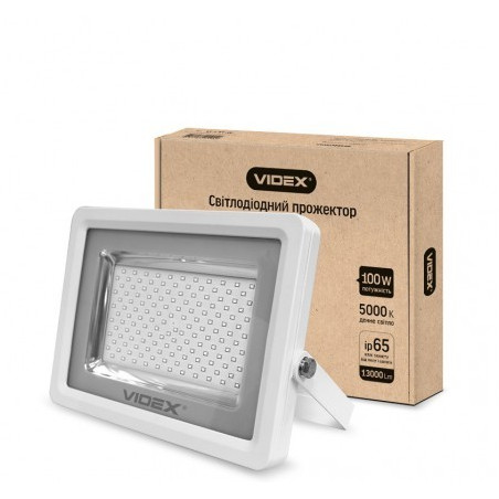 Прожектор LED VIDEX 100W 5000K 220V White (VL-F1005W)