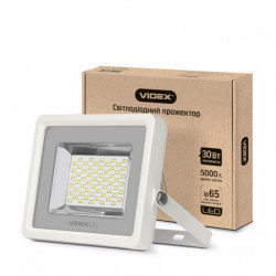 Прожектор LED VIDEX 30W 5000K 220V White (VL-F305W)