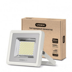 Прожектор LED VIDEX 50W 5000K 220V White (VL-F505W)
